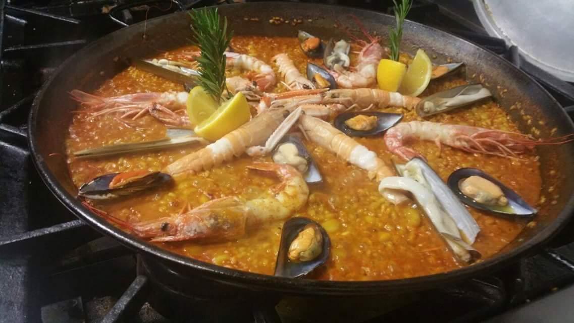 Una de las mejores paellas de Madrid